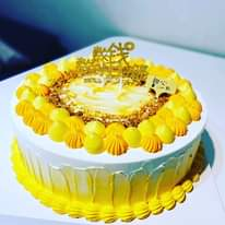 May be an image of cake