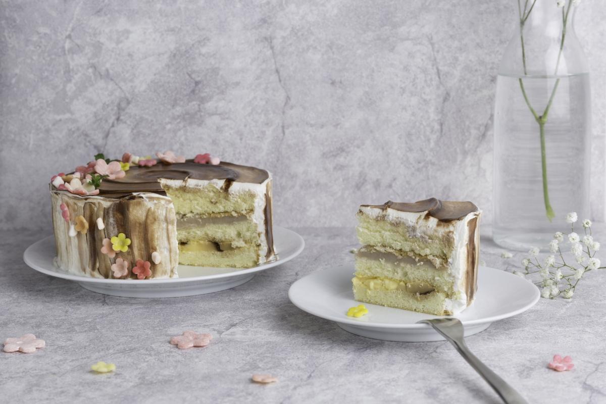 芋泥布丁蛋糕